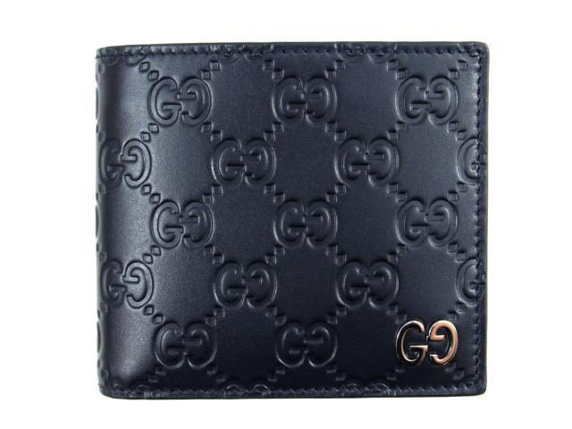 二つ折財布  グッチシマ二つ折財布