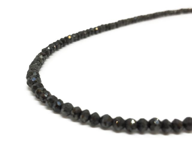ネックレス ブラックダイヤ ダイヤ