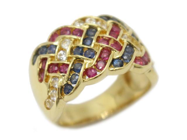 ルビー サファイア  リング 指輪