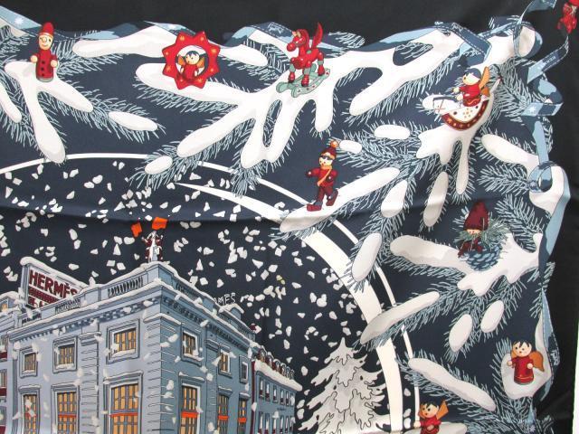 24番地クリスマス スカーフ