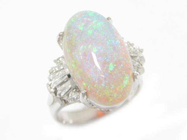 オパール リング 指輪