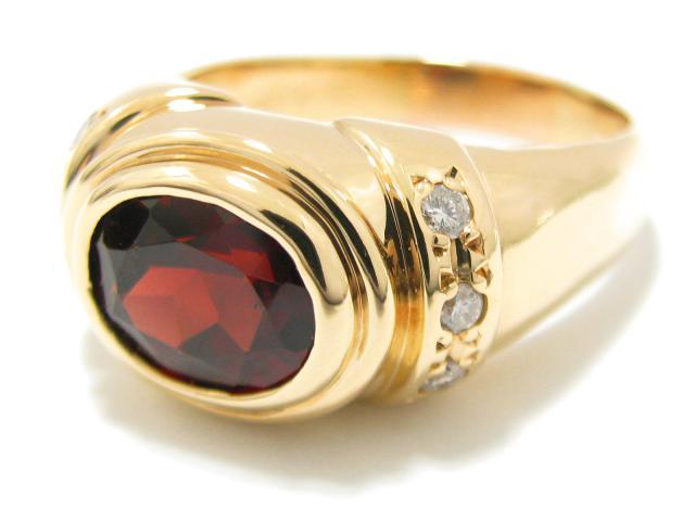 ガーネット リング 指輪