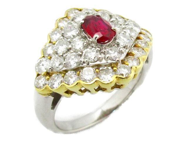 ルビー ダイヤモンドリング