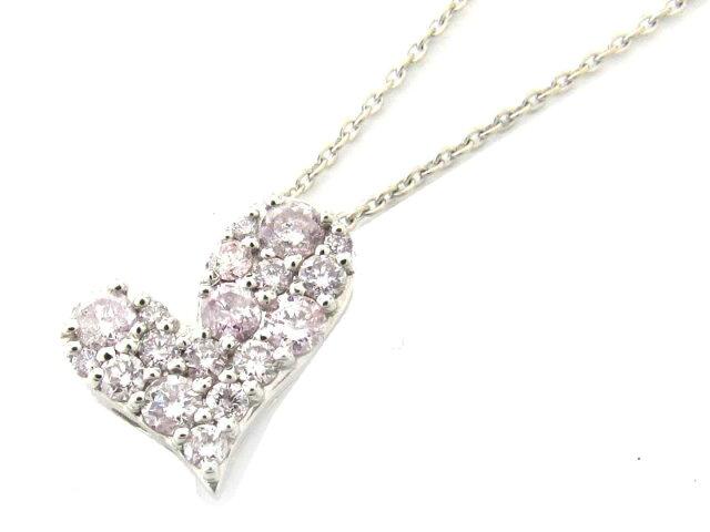 ピンクダイヤモンド ネックレス