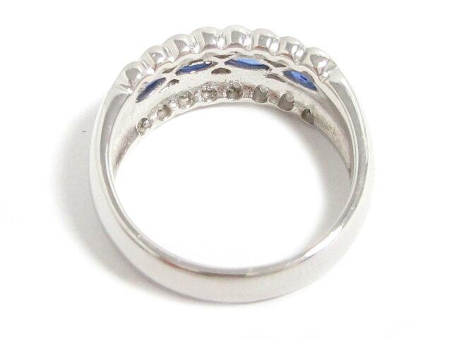 サファイア ダイヤモンドリング