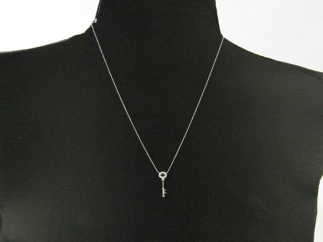キー ダイヤモンド ネックレス