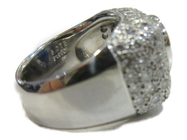 サファイア ダイヤモンドリング 指輪