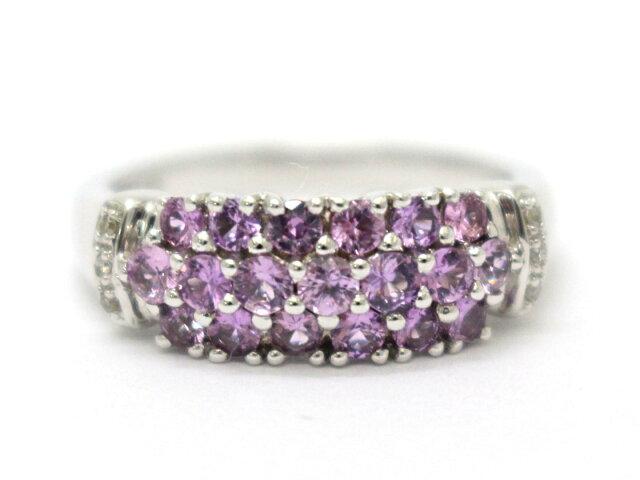 ピンクサファイア リング 指輪