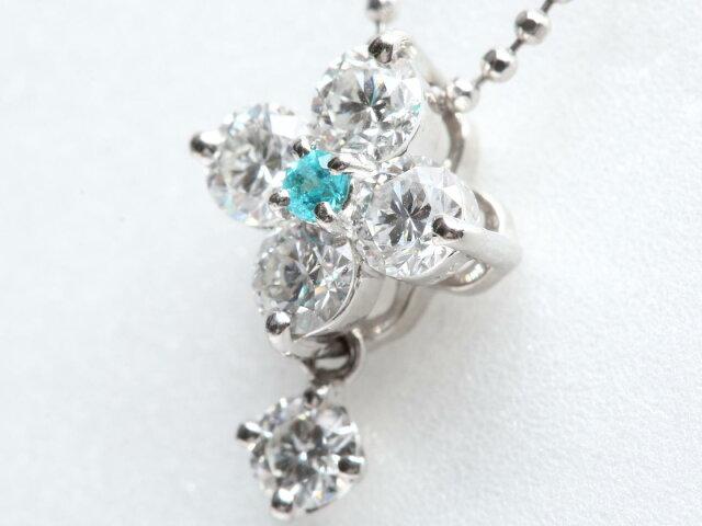 トルマリン ダイヤモンド ネックレス