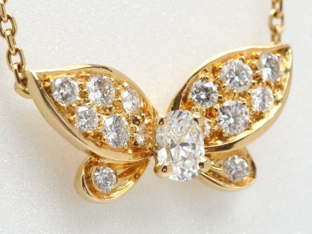 パピヨン ダイヤモンド ネックレス