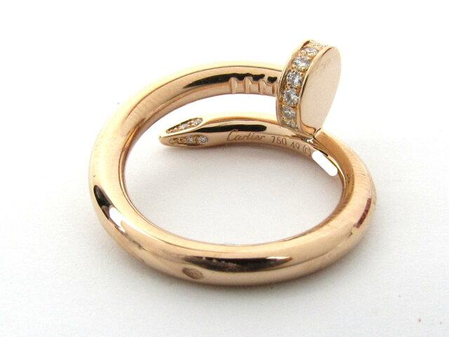 ジャストアンクル リング 指輪