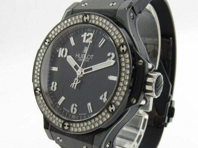 ビッグバン ベゼルダイヤモンド ウォッチ 腕時計