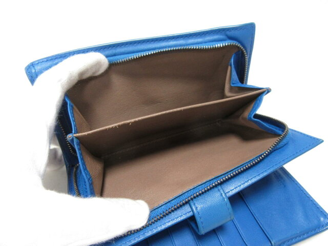 Wホック長財布