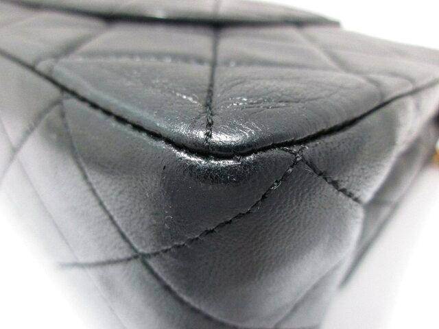 マトラッセ Wフラップチェーンショルダー バッグ