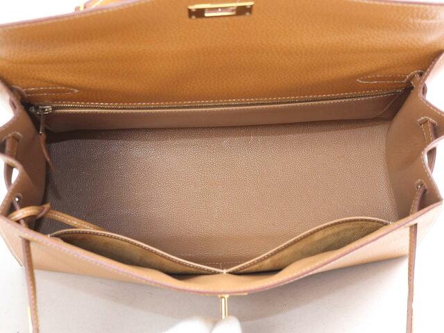 ケリー32 外縫い ハンドバッグ