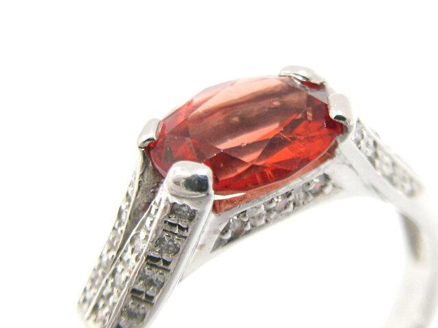 アンデシン ダイヤモンド リング 指輪