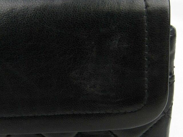 ラムスキン チェーンショルダーバッグ