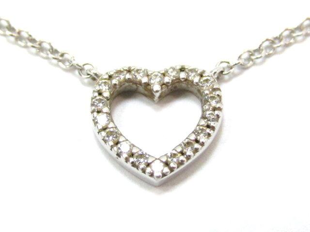 メトロハート ダイヤモンドネックレス