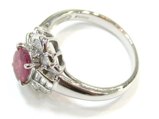 ルビーリング ダイヤモンド 指輪