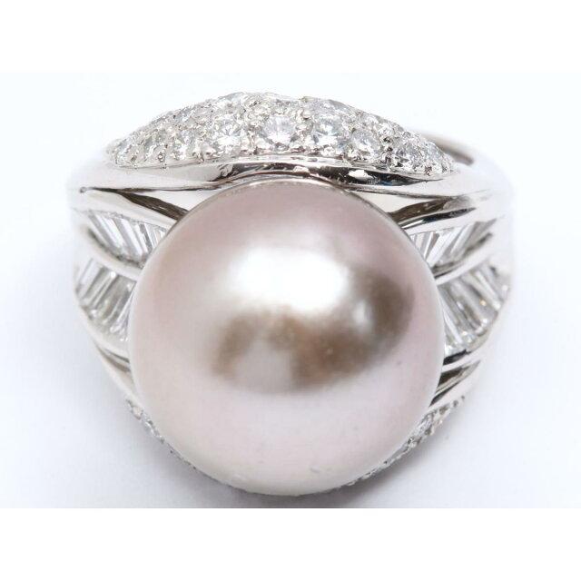 パールダイヤモンド リング 指輪