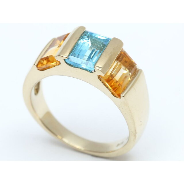 マルチリング 色石 指輪