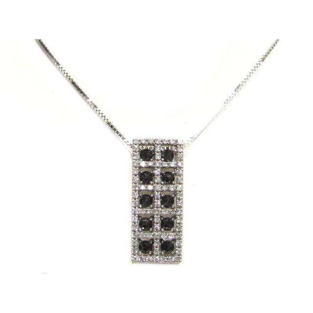 ブラックダイヤモンド ネックレス