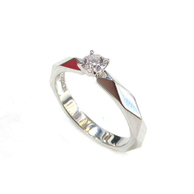 ファルセットソリテールリング ダイヤモンド 指輪