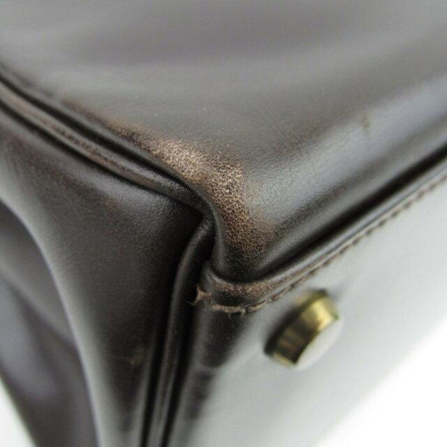 ケリー35 ストなし ハンドバッグ 内縫い