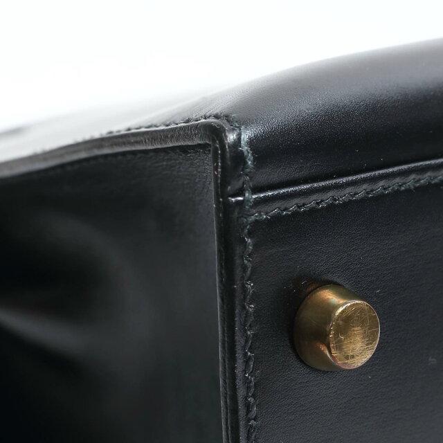 ケリー32 ハンドバッグ 外縫い