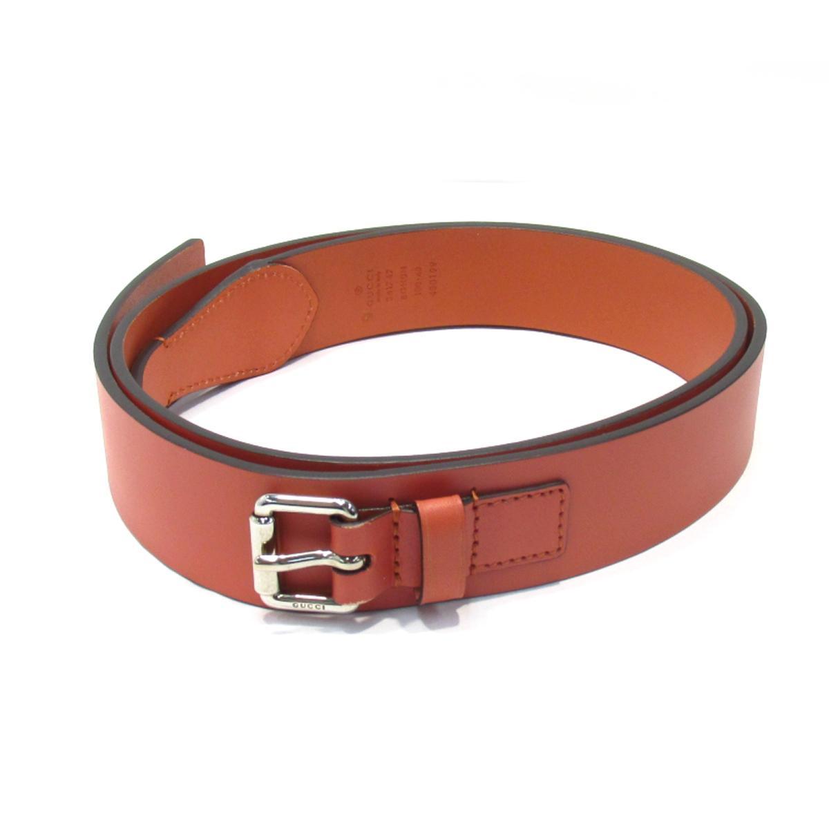 c19e095ac6a BRANDOFF GINZA  Gucci belt men leather orange (341747)