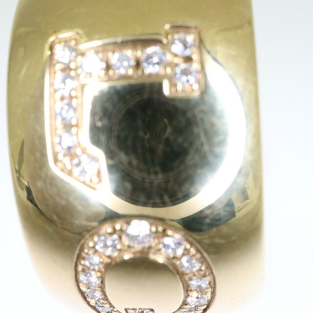 モノロゴリング ダイヤ入り 指輪