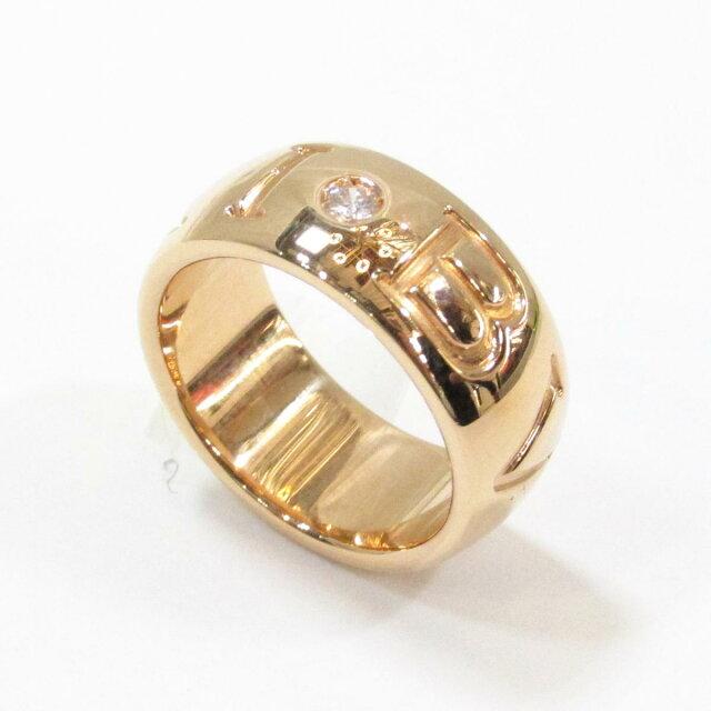 モノグラムロゴリング 1Pダイヤモンド指輪