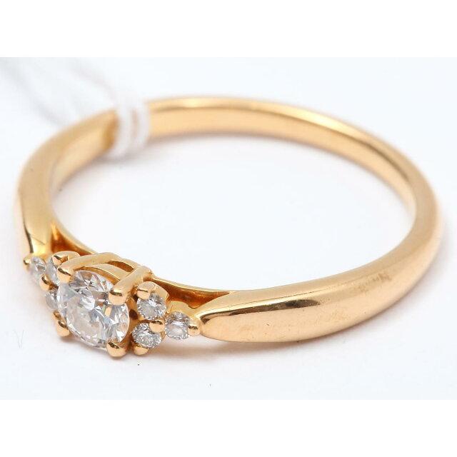 ハーモニーダイヤサイドストーンリング 指輪