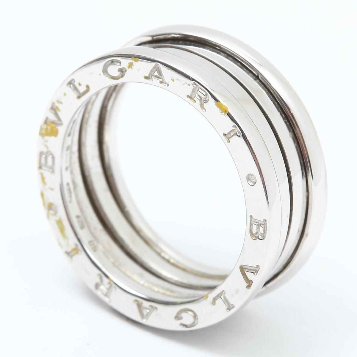 fe8a4b935308 中古】 ブルガリ B-zero1 リング Sサイズ 指輪 ビーゼロワン メンズ ...
