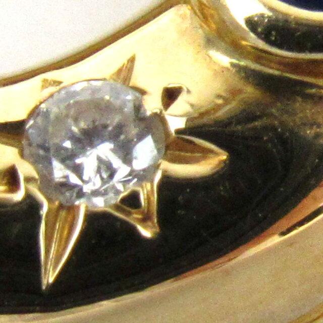 アノーサファイア ダイヤモンド ネックレス