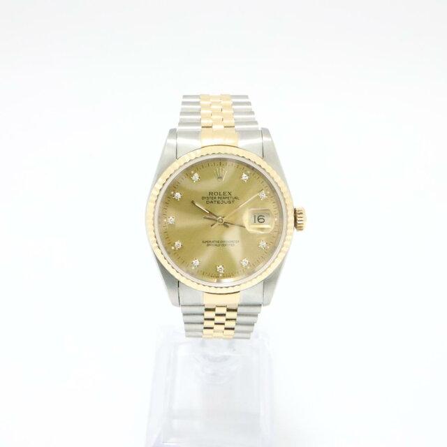 デイトジャスト10Pダイヤ 旧P 旧J 腕時計