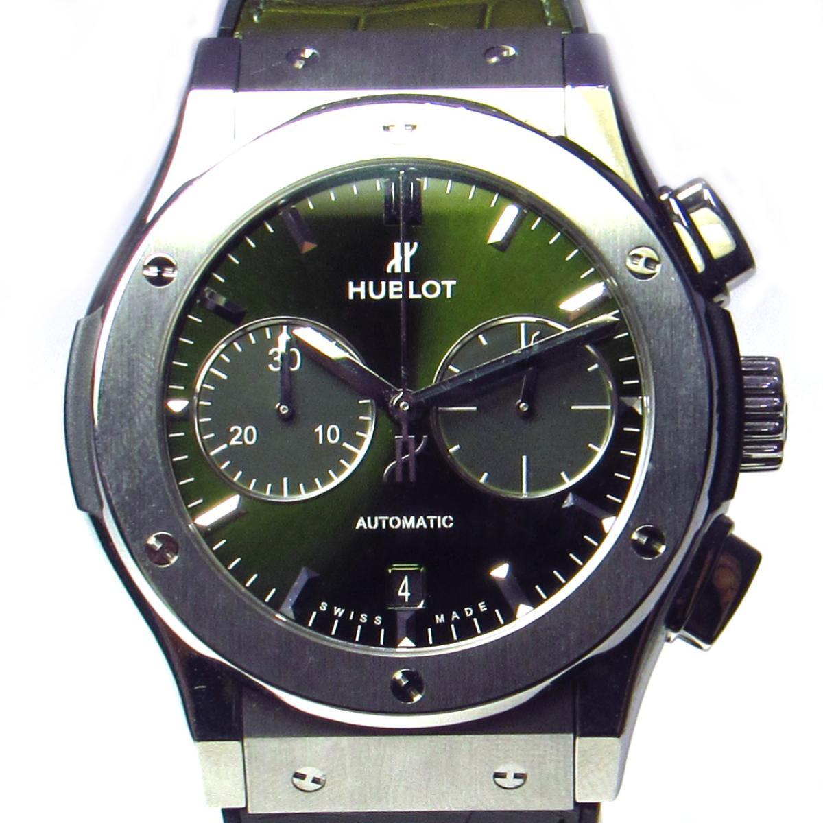 buy popular 79f47 8e1c9 中古】 ウブロ クラシックフュージョン Forbide 腕時計 ウォッチ ...