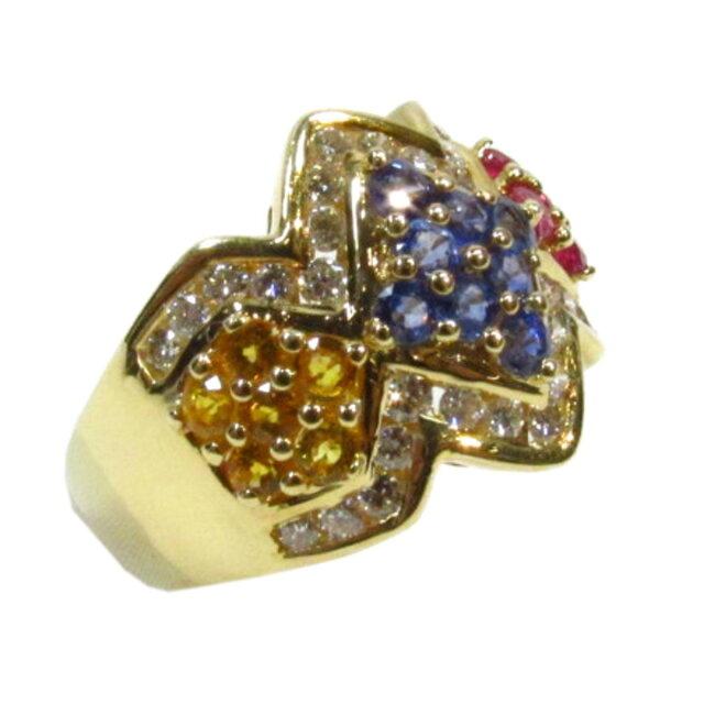 マルチカラーリング 指輪