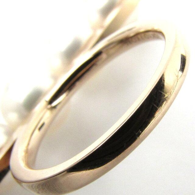バランス シグネクチャー あこや真珠 リング 指輪