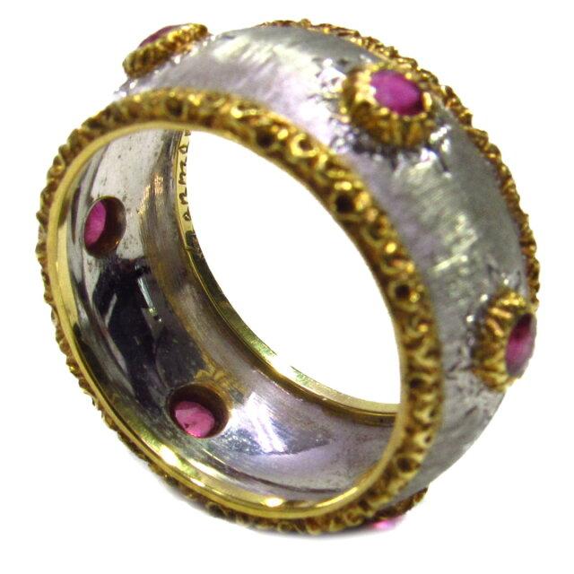 GIANMARIA BUCCELLATI ルビーリング 指輪