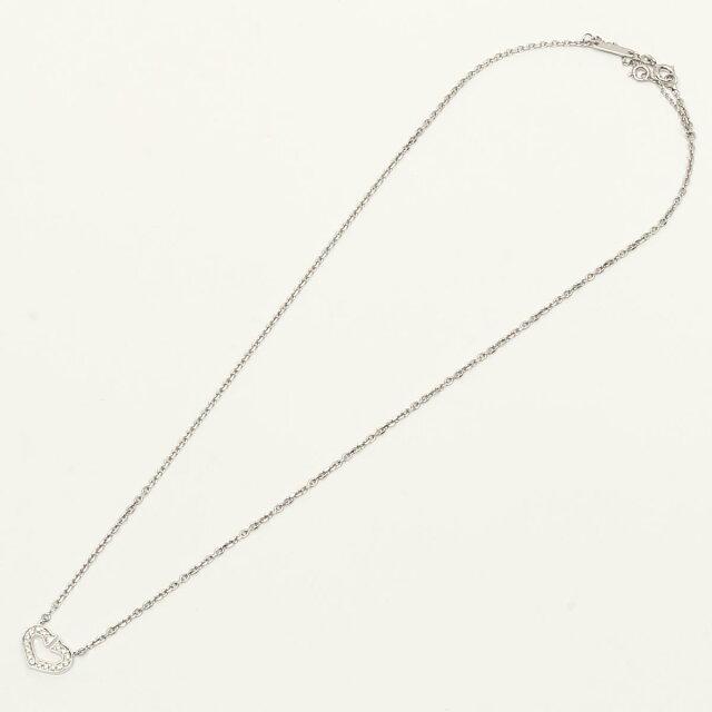 Cハートネックレス ダイヤモンド ネックレス