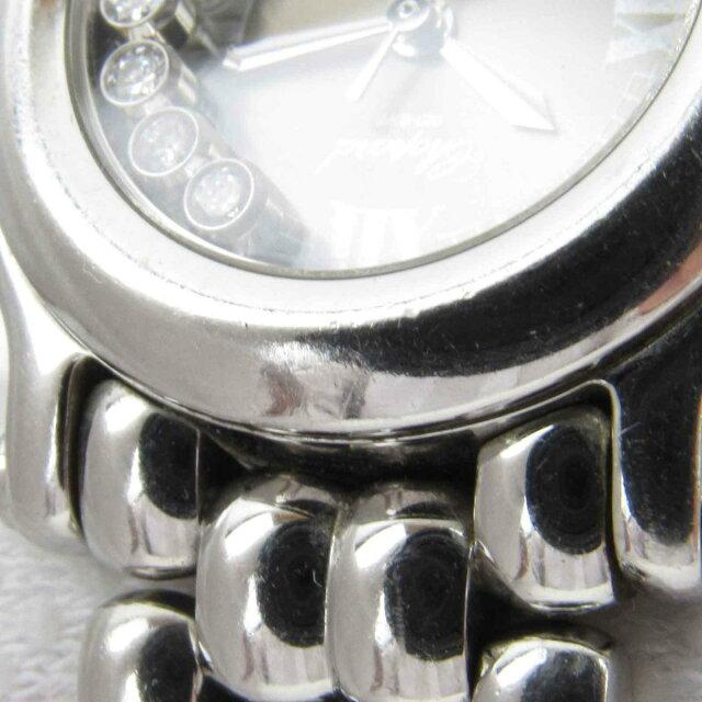 ハッピースポーツ 5Pダイヤモンド ウォッチ 腕時計