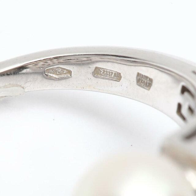 ルチア パール ダイヤモンド リング 指輪