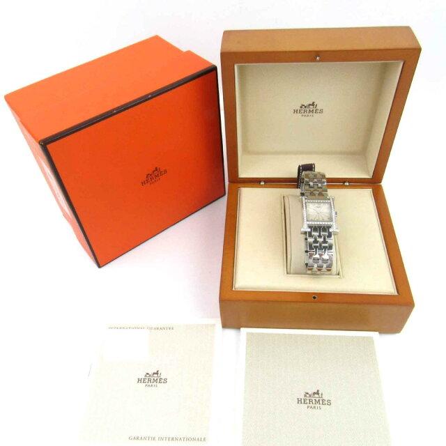 Hウォッチ ベゼルダイヤモンド ウォッチ 腕時計