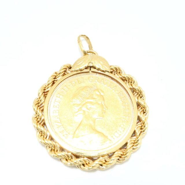 エリザベス2世 コイン トップ