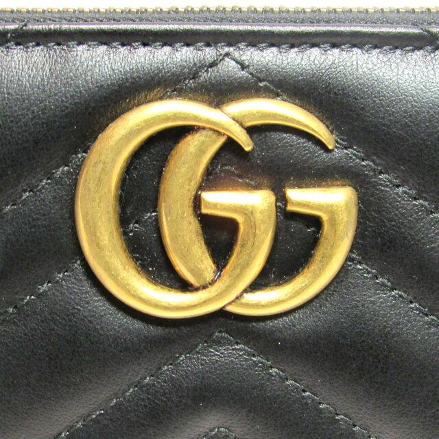 GGマーモント ラウンドファスナー長財布