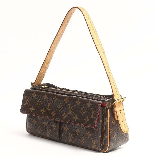 0beb1e18 Auth LOUIS VUITTON Viva Cite MM Shoulder Bag Monogram Canvas M51164 Brown  Used | BRANDOFF Ginza/TOKYO/Japan