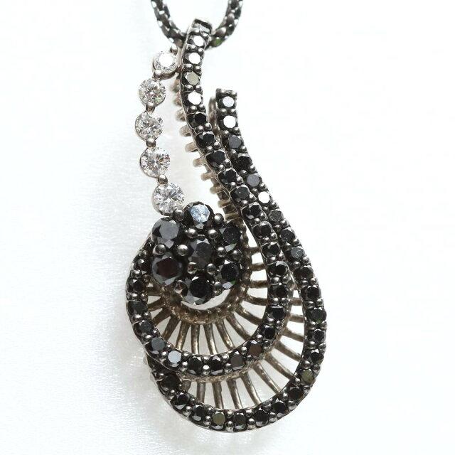 ブラックダイヤモンド ダイヤモンド ネックレス
