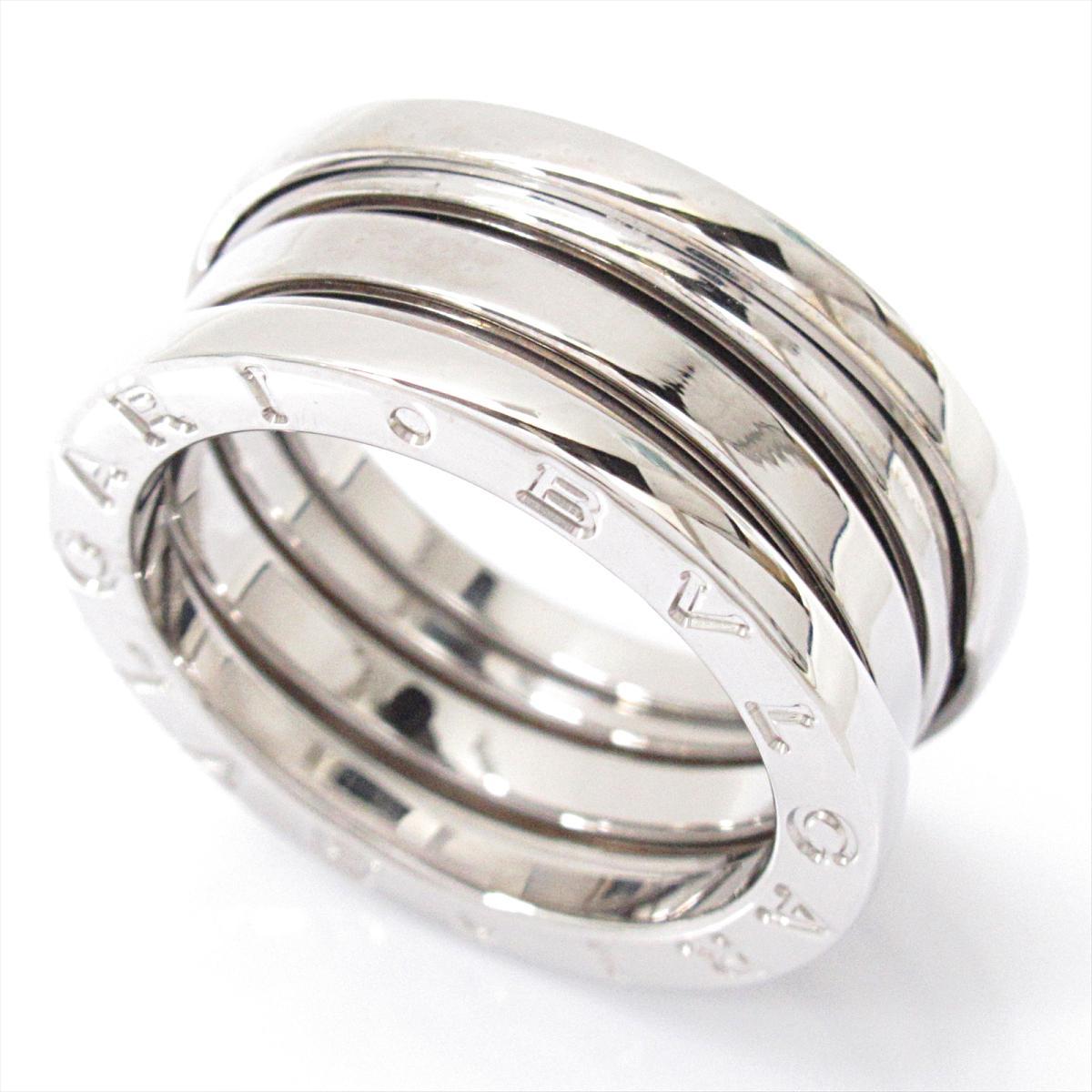 40dc4799dab8 中古】 ブルガリ B-zero1 ビーゼロワンリング 指輪 Sサイズ メンズ ...