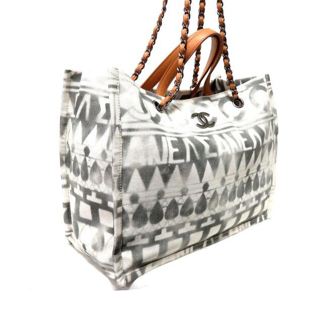 アイコン ショッピングバッグ ココパフューム ロゴ 2WAY トートバッグ チェーンショルダーバッグ